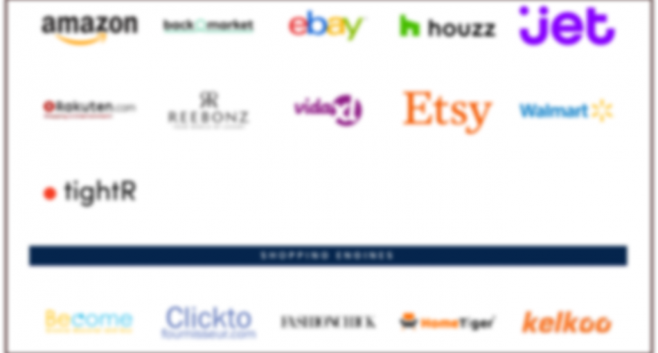 E-Commerce Channel Logos