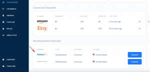 Shoppingfeed's multichannel dashboard helps beat your competiton on walmart